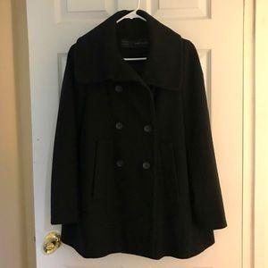 Zara A-line Coat